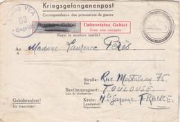 Correspondance Prisonnier Guerre Stalag VI A Hemer 22/11/1941 Pour Perès Toulouse Haute Garonne - Censure - WW II