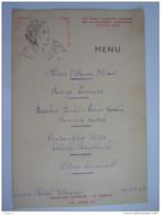 """Menu 1938 Grand Hôtel Wagner Reclame Cigarette Laurens """"Le Khédive"""" Form. 14,5 X 21 Cm - Menus"""