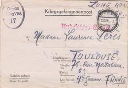 Correspondance Prisonnier Guerre Stalag VI A Hemer 23/12/1941 Pour Perès Toulouse Haute Garonne - Censure - WW II