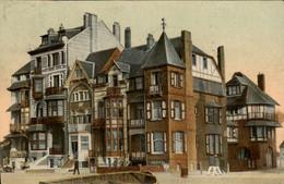 België - La Panne - Villas Sur La Digue - 1907 - Non Classés