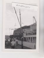 PHOTO - TRACTION CITROEN Au Débarquement D'un Bateau - Beau Cliché Peu Commun Peut-être 56 - BELLE-ILE - Automobili