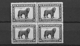 1932 MNH Newfoundland Mi 179C Line Perf 12  1/2 Postfris** - Honden