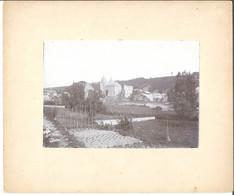 Durbuy  Vue De Durbuy En 1885  Photo Sur Carton 16.5/11.5 Cm - Durbuy