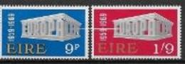 Irlande 1969 Neufs ** N° 232/233 Europa - 1969
