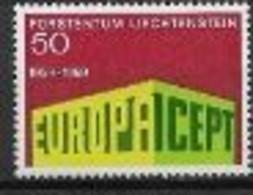 Liechtenstein 1969 Neufs ** N° 454 Europa - 1969