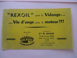 BUVARD REXOIL LA REINE DES HUILES - Automóviles