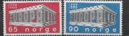 Norvège1969 Neufs ** N° 538/539 Europa - 1969
