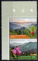 Korea, South 2019.  National Parks - Severni Velebit And Seoraksan - Joint Issue With Croatia. MNH - Corea Del Sur