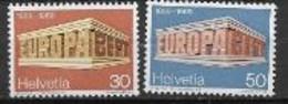 Suisse1969 Neufs ** N° 832/833 Europa - 1969