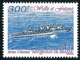 WALLIS ET FUTUNA 2004 - Yv. 622 **   Faciale= 2,51 EUR - Navire Aviso 'Savorgnan De Brazza'  ..Réf.W&F23455 - Nuovi
