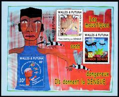 WALLIS ET FUTUNA 2004 - Yv. BF 14 **  - Lutte Contre La Dengue (4 Val.)  ..Réf.W&F23408 - Blocks & Sheetlets