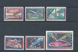 België 1047/1052 MNH ** Expo 58 - Unused Stamps