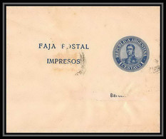 4220/ Argentine (Argentina) Entier Stationery Bande Pour Journal Newspapers Wrapper N°34 - Enteros Postales