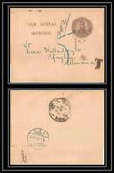 4223/ Argentine Argentina Entier Stationery Bande Journal Wrapper N°35 Pforzheim Allemagne Germany Taxe 1908 - Enteros Postales