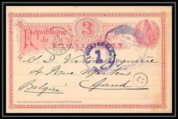 4503 Pour Gand Belgique (Belgium) 1898 Carte Postale Guatemala Entier Postal Stationery - Guatemala