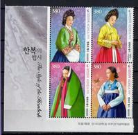 Korea, South 2019.  Traditional Costumes.  MNH - Corea Del Sur