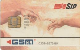 GSM ITALIA CON CHIP SIP (E64.21.6 - [2] Sim Cards, Prepaid & Refills