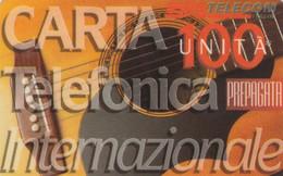 PREPAID PHONE CARD ITALIA INTERNAZIONALE LCR (USP3.7 - Schede GSM, Prepagate & Ricariche