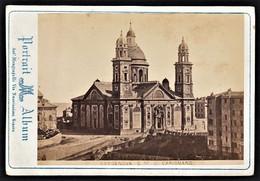 ITALIA GENOVA GENUA S. M. DI CARIGNANO FOTO KARTON MANGIAGALLI 1890 - Lieux