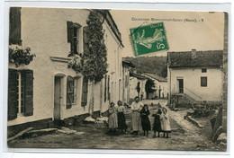 55 MONT DEVANT SASSEY  Rue De L'ECole  ?  Femme Et Enfants   No 7 Edit A Godet D10  2021 - Other Municipalities