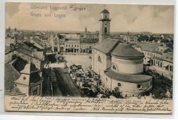 ROUMANIE LUGOSROL LUGOS Lugoj  Usvozlet Place Kath Kircher   1904 écrite D10 2021 - Romania