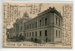 ROUMANIE LUGOSROL LUGOS Lugoj  Usvozlet  Caleche Tas De Pierres Rue M Kir Torvenyhaz   1904 écrite D10 2021 - Romania