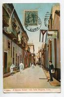 CUBA HABAN ANGOSTA A Narrow Street Animation écrite En 1907   D10 2021 - Cuba
