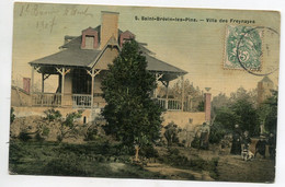 44 ST SAINT BREVIN Les PINS La Villa Des FREYNAYES  Jeux Dans Le Jardin Bel Aspect Toilé Couleur 1907    D10 2021 - Saint-Brevin-les-Pins