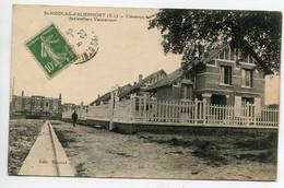76 ST SAINT NICOLAS D'ALIERMONT Nouvelles Maisons Avenue Des Ateliers Vaucanson 1923 écrite Timb  D10 2021 - Autres Communes
