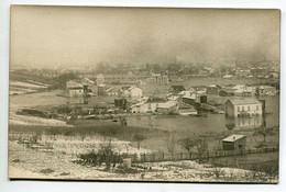94 VITRY Sur SEINE Tirage CARTE PHOTO Maisons Quartier Ville  Creux Vallée Neige Et Inondation 1910  D10 2021 - Vitry Sur Seine