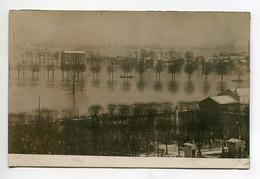 94 VITRY Sur SEINE Tirage CARTE PHOTO  Maisons  Quartier Ville  Inondation 1910  D10 2021 - Vitry Sur Seine
