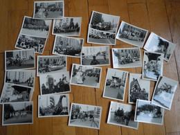 26 Photos Argentiques GRENOBLE - CORSO CARNAVAL Mai 1964 - Places