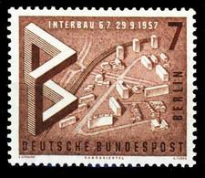 BERLIN 1957 Nr 160 Postfrisch S9797FA - Unused Stamps