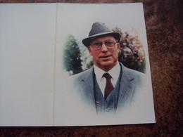 Doodsprentje/bidprentje Frans Bernard DERDE (Echtg Yvonne De Smedt)  Wichelen 1929 - 1992  Oud-Burgemeester Wichelen... - Religión & Esoterismo
