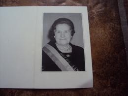 Doodsprentje/bidprentje  Alice BOCAEGE(Echtg Maurits HUYS)  Zulte 1914 - 1995 Waregem - Religión & Esoterismo