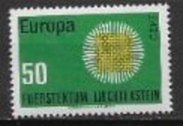 Liechtenstein 1970 Neufs ** N° 477 Europa - 1970