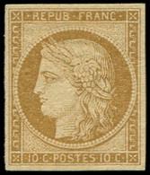 * EMISSION DE 1849 - 1    10c. Bistre-jaune, Frais, TB - 1849-1850 Ceres
