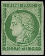 (*) EMISSION DE 1849 - 2    15c. Vert, TB. C - 1849-1850 Ceres