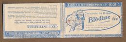 Couverture De Carnet Vide , Série 234 , 1931 , Pubs Blédine : - Reclame