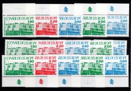 Service - 3 Series Pour Le Prix De 2 - YV 93 à 95 + 96 / 97 N** Complete Conseil De L'Europe Cote 23,40 Euros - Nuovi