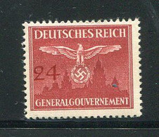 POLOGNE- Occupation Allemande- Service Y&T N°31- Neuf Avec Charnière * - Governo Generale