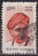 Prix Nobel De Physique - INDE - C. V. Raman - N° 2136 A - 2009 - Used Stamps