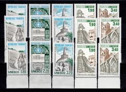 Service - 3 Series Pour Le Prix De 2 - YV 88 à 90 + 91 / 92 N** Complete Patrimoine UNESCO Cote 22,80 Euros - Nuovi