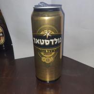 Israel-beer-goldstar Unfiltered Beer-(4.9%)-(500ml) - Cans