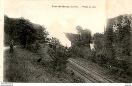 D72  PONT- DE- BRAYE  Vallée Du Loir  ..... Avec Le Train - Sonstige Gemeinden
