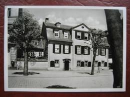 Weimar - Schillers Wohn- Und Sterbehaus - Weimar