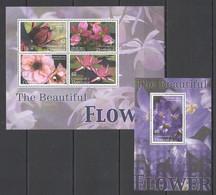 A099 DOMINICA FLORA NATURE BEAUTIFUL FLOWERS ORCHIDS KB+BL MNH - Orchideen