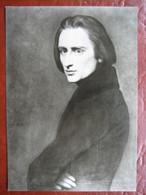 Weimar - Liszthaus: Portät Von Franz Liszt Von A. Scheffer - Weimar