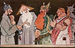CPA - WW1 WWI Propaganda Propagande - KAISER - Umoristica Satirica, Humour Satirique - NV - KV385 - Oorlog 1914-18