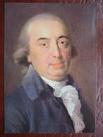 Weimar - Herder-Museum: Künstlerkarte (F.A. Tischbein) Porträt Johann Gottfried Herder 1796 - Weimar
